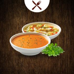 Heisse Theke / Suppen / Eintöpfe