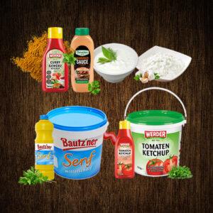 Senf / Ketchup / Saucen / Remoulade